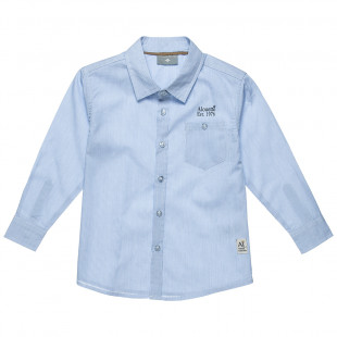 Shirt striped and pocket (6-16 years)