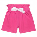 Shorts high-waisted with bow (6-16 years)