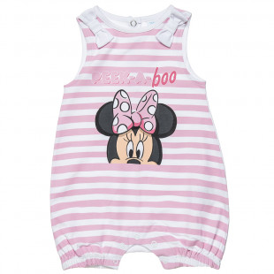 Φορμάκι Disney Minnie Mouse με ρίγες (3-9 μηνών)