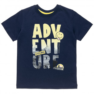 T-Shirt Smiley with print (6-14 years)