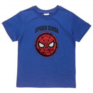 T-Shirt with sequin flip design (4-10 years)
