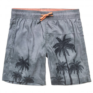 Swimshorts with palm trees (6-16 years)
