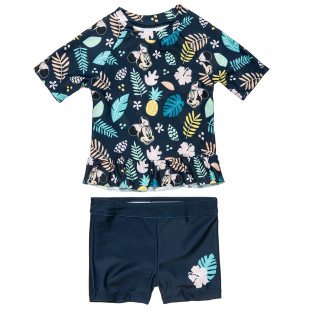 Swimsuit 2-piece Disney Minnie Mouse UPF40+ (12 months-3 years)