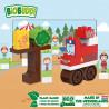 Τουβλάκια οικολογικά πυροσβεστικό όχημα (1,5-6 ετών)