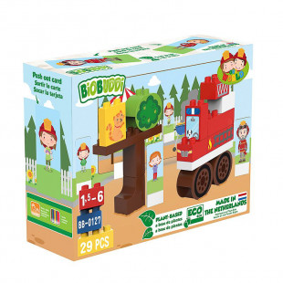 Blocks eco fire truck (1,5-6 years)