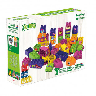 """Blocks eco for girls """"Learning to create"""" (1,5-6 years)"""