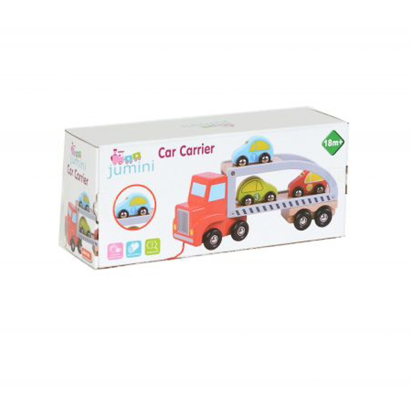 """Παιχνίδι ξύλινο """"Car carrier"""" (18 μηνών+)"""