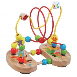 """Wooden toy """"Fox maze"""" (18 months+)"""