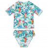 Swimsuit 2-piece UPF40+ with pattern (12 months-3 years)