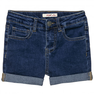 Shorts denim with pockets (6-16 years)
