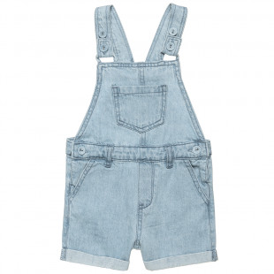 Overall denim with pockets (12 months-3 years)