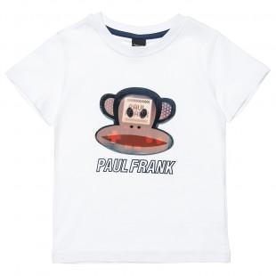 Μπλούζα Paul Frank με τρισδιάστατο patch (6-14 ετών)