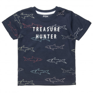 """T-Shirt with print """"Treasure hunter"""" (6-18 months)"""