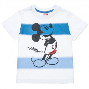 T-Shirt Disney Mickey Mouse with stripes (2-5 years)