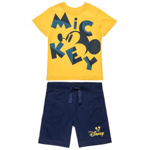 Set Disney Mickey Mouse t-shirt and shorts (12 months-5 years)