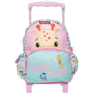 Trolley backpack Fisher Price with 3D print giraffe
