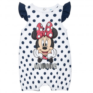 Φορμάκι Disney Minnie Mouse πουά (1-9 μηνών)