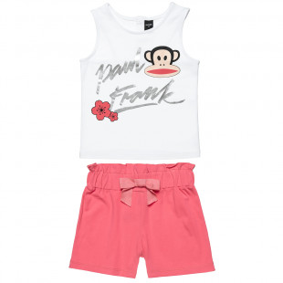 Set Paul Frank top and shorts (6-14 years)