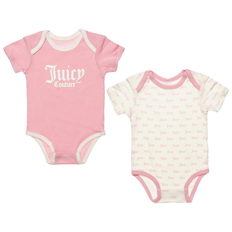 Φορμάκια σετ 2τμχ Juicy Couture (0-6 μηνών)