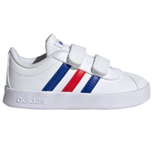 Adidas Shoes VL Court 2.0 FY9275 (Size 20-27)