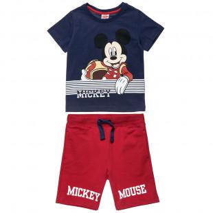 Σετ Disney Mickey Mouse με τύπωμα (12 μηνών-5 ετών)