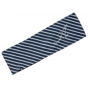 Hairband with stripes (6-12 years)