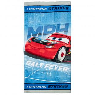 Πετσέτα θαλάσσης Disney Cars 70x140cm