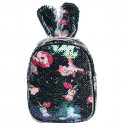 Backpack with sequin