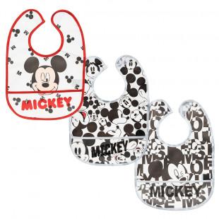 Σαλιάρες σετ 3τμχ Disney Mickey Mouse