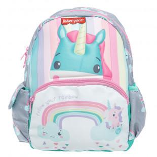 Backpack Fisher-Price kindergarten 3D print unicorn