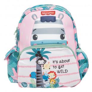 Backpack Fisher Price kindergarten 3D print zebra