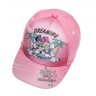 Καπέλο jockey Disney Minnie Mouse (2-5 ετών)