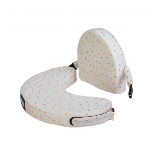 Nursing Pillow Lactimi with tringle pattern