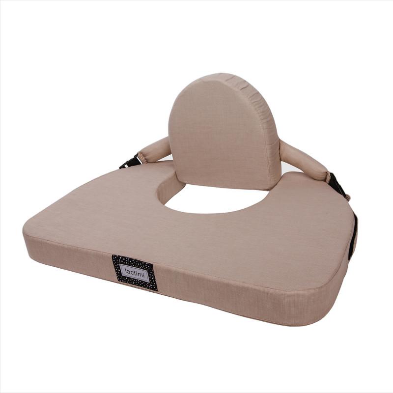 Nursing Pillow Lactimi for twins beige