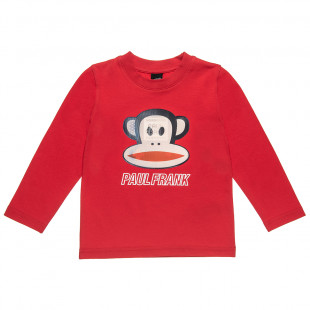 Long sleeve top Paul Frank with 3D print (18 months-5 years)