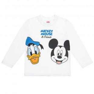 Μπλούζα Disney Mickey & friends (12 μηνών-5 ετών)