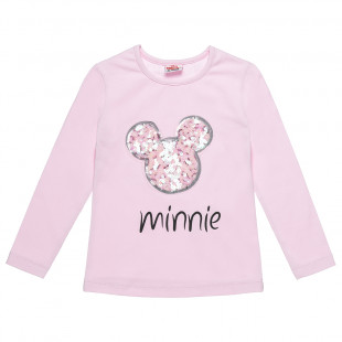 Long sleeve top Disney Minnie Mouse with sequin (18 months-5 years)