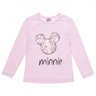 Μπλούζα Disney Minnie Mouse με παγιέτες (18 μηνών-5 ετών)