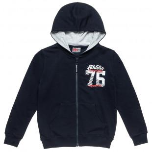 Zip hoodie Moovers with print (6-16 years)