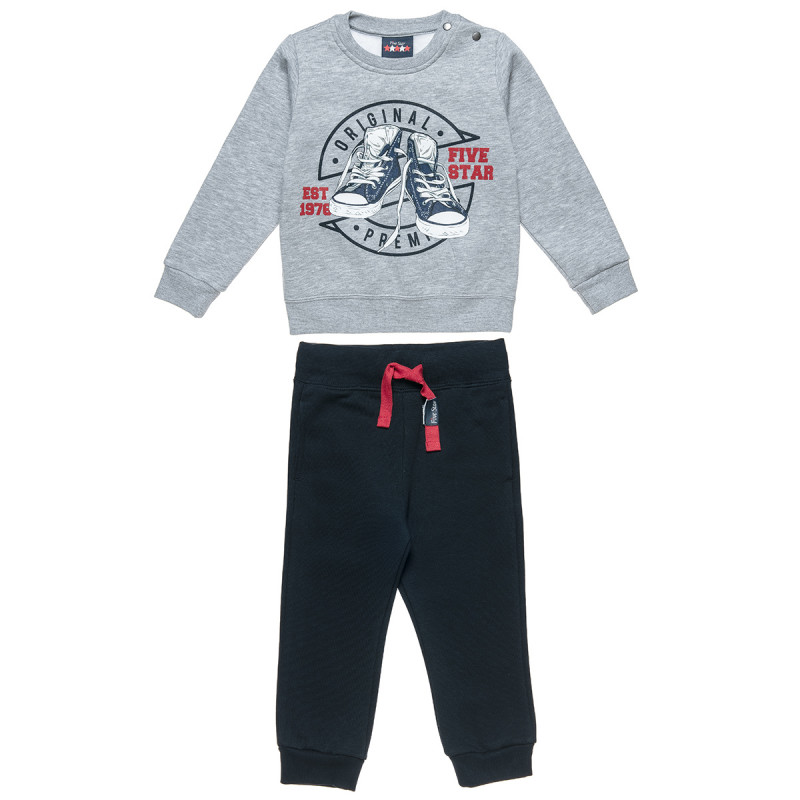 Tracksuit Five Star with print (12 months-5 years)