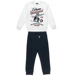 Σετ Five Star μπλούζα με ανάγλυφο τύπωμα και παντελόνι (6-16 ετών)
