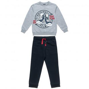 Σετ Five Star μπλούζα με τύπωμα και παντελόνι (6-16 ετών)