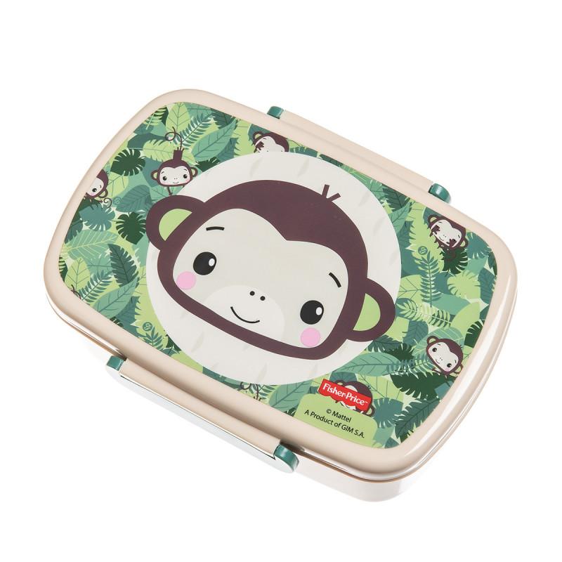 Δοχείο φαγητού Fisher-Price μαϊμού