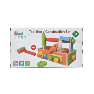 """Toy from natural wood """"Tool box/Construction set"""""""