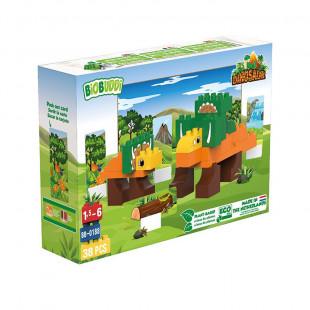 """Blocks BIOBUDDI eco """"Dinasaur"""" (1,5-6 years)"""