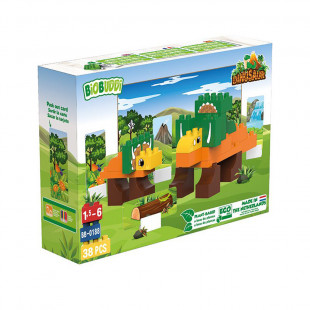 """Τουβλάκια BIOBUDDI οικολογικά """"Dinosaur"""" (1,5-6 ετών)"""