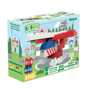 Toy blocks eco hospital (1,5-6 years)