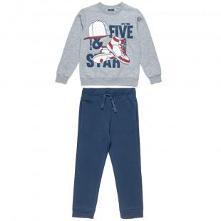 Σετ φόρμας Five Star μπλούζα με τύπωμα και παντελόνι (6-16 ετών)
