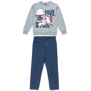Tracksuit Five Star with print (6-16 years)