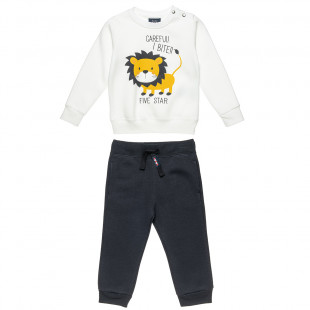 Trucksuit Five Star with lion print (9 months-5 years)